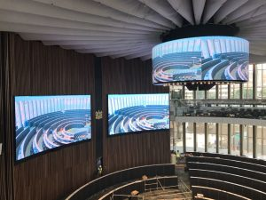 Large Curved Screen