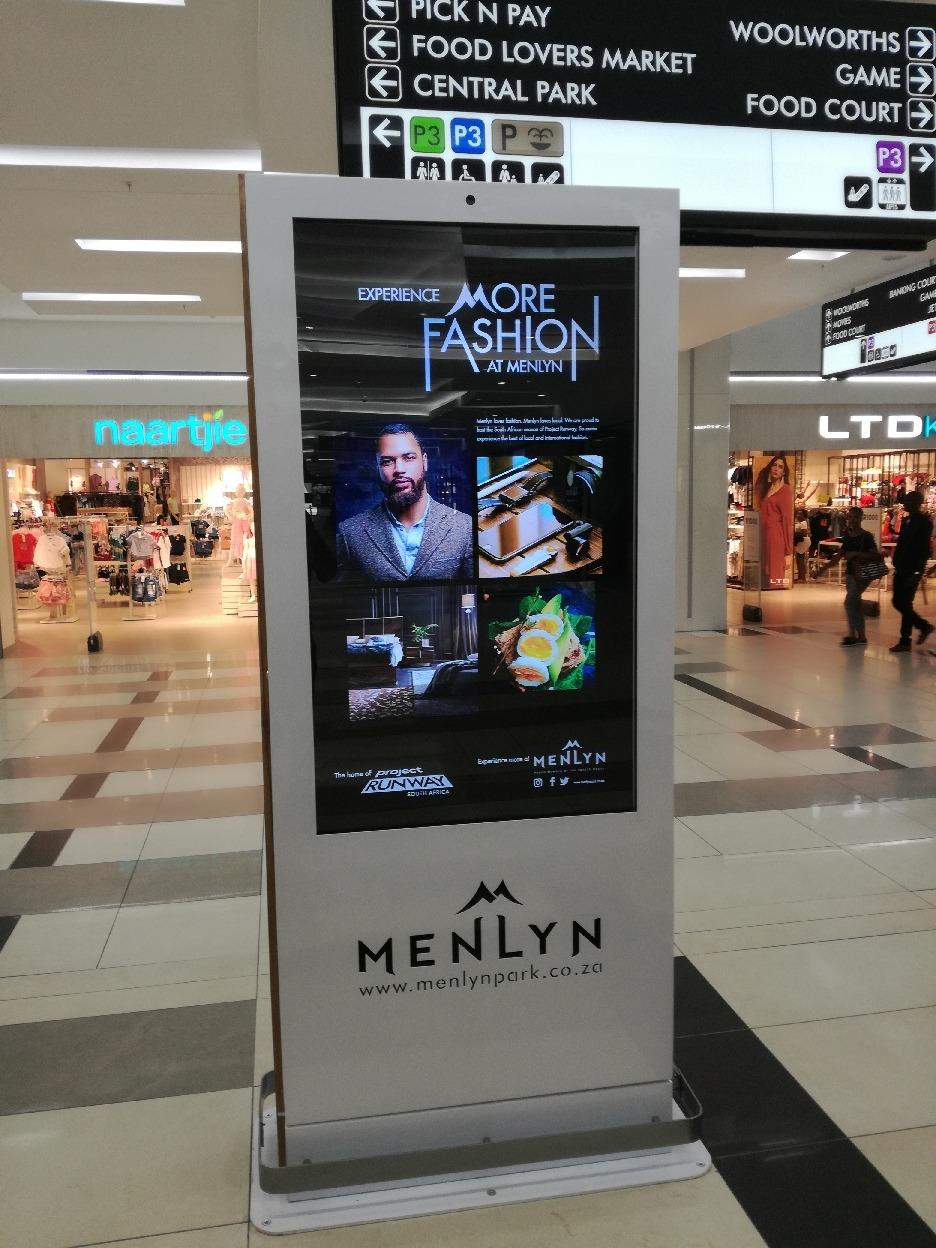 Menlyn Indoor Info Screen