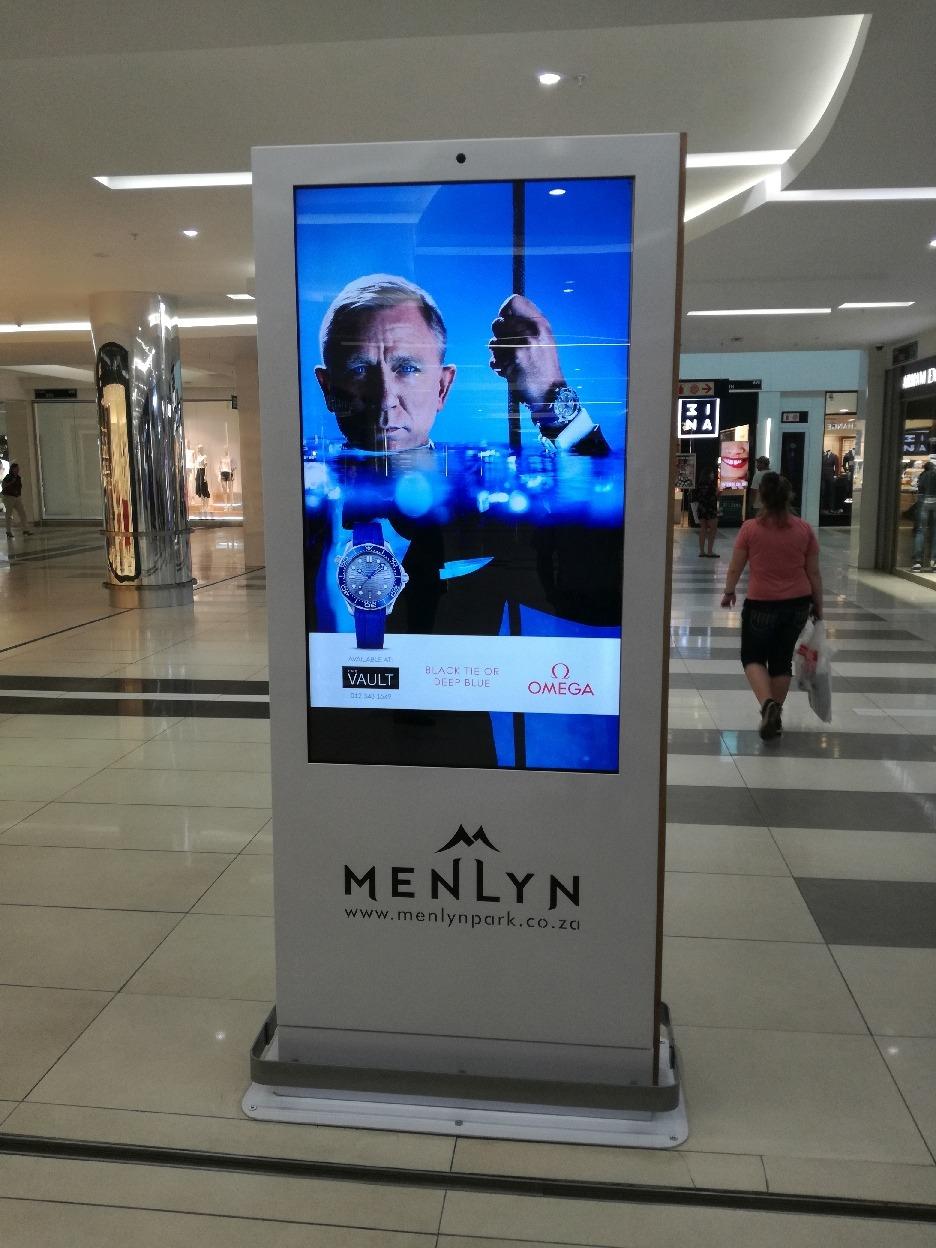 Indoor Info Screen Wayfinding Indoor Menlyn