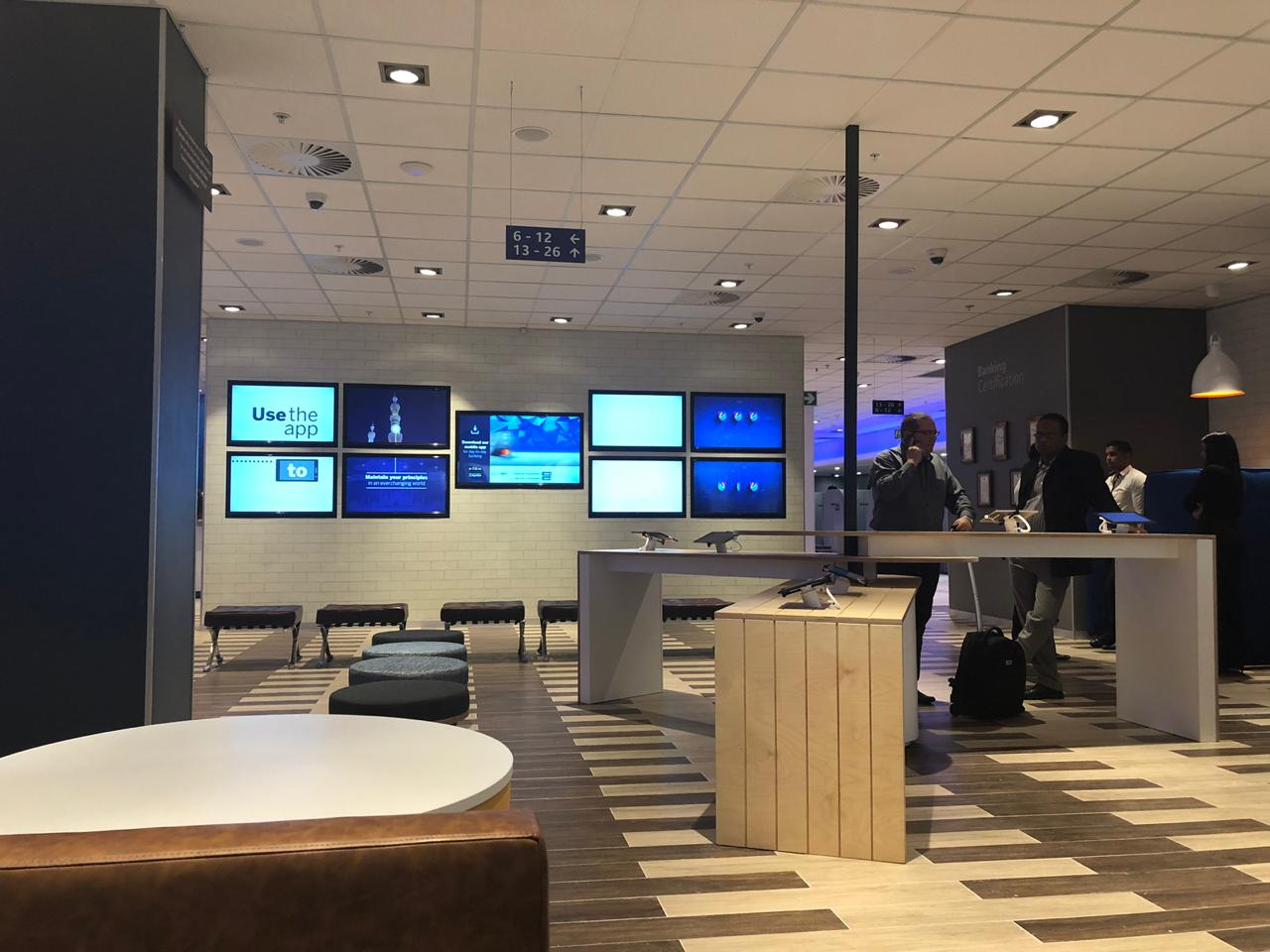Video Wall of screens